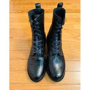 FRYE Combat Lace Up Boots